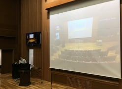 岡山医学会主催特別講演会(新任教授講演)webセミナー サポート業務