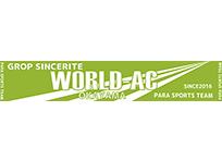 グロップサンセリテ様 WORLD-AC マフラータオル